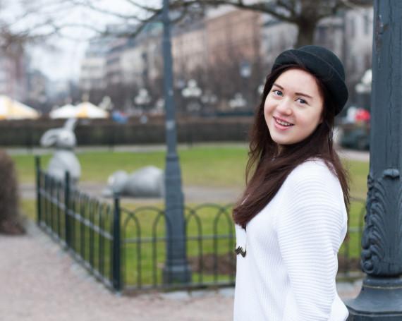 Porträtt Amanda